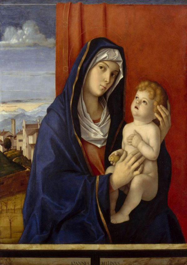 Bellini, Giovanni: Madonna and Child. Fine Art Print/Poster. Sizes: A4/A3/A2/A1 (001869)